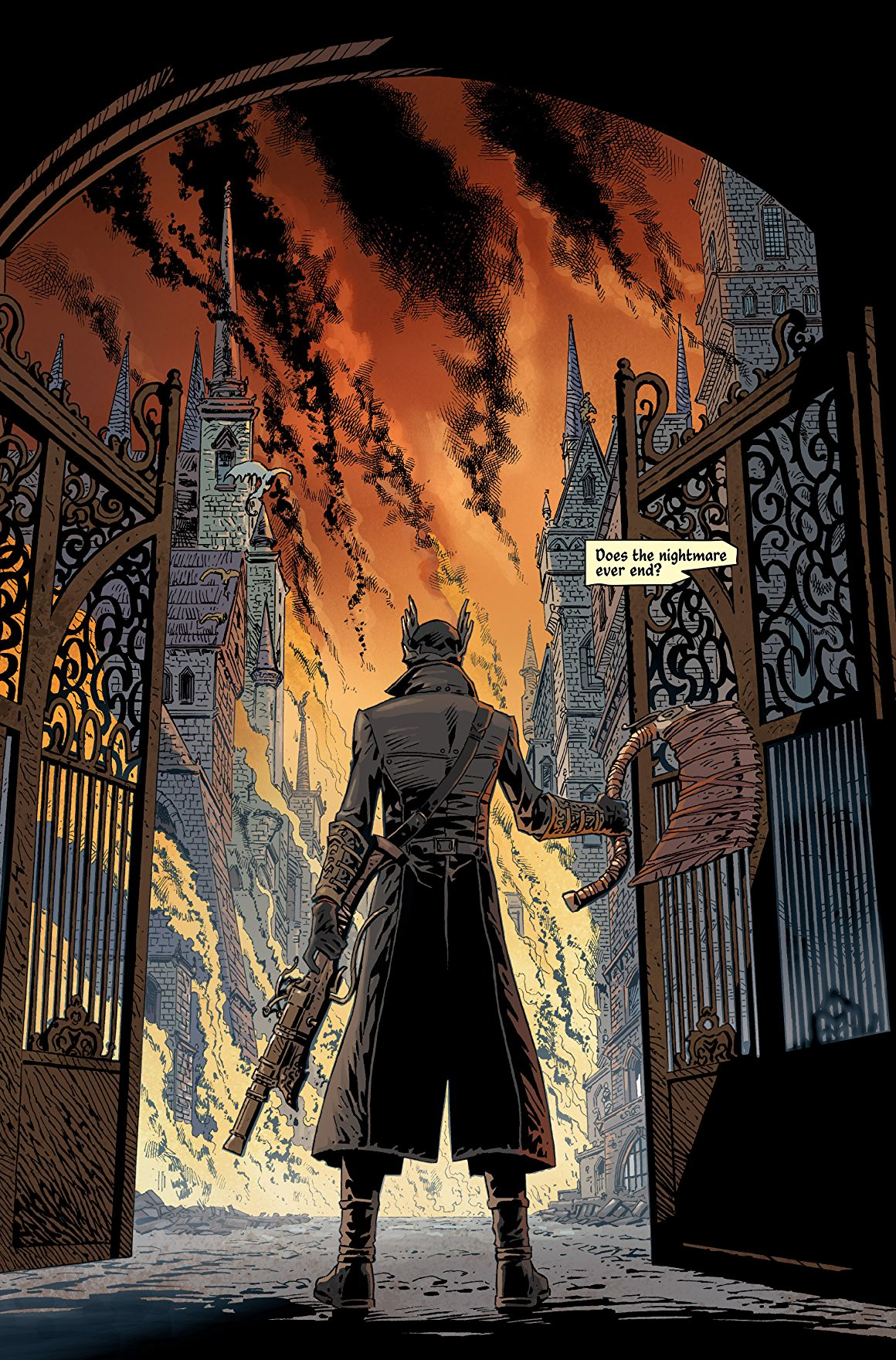 Znalezione obrazy dla zapytania: bloodborne comicbook vol 1