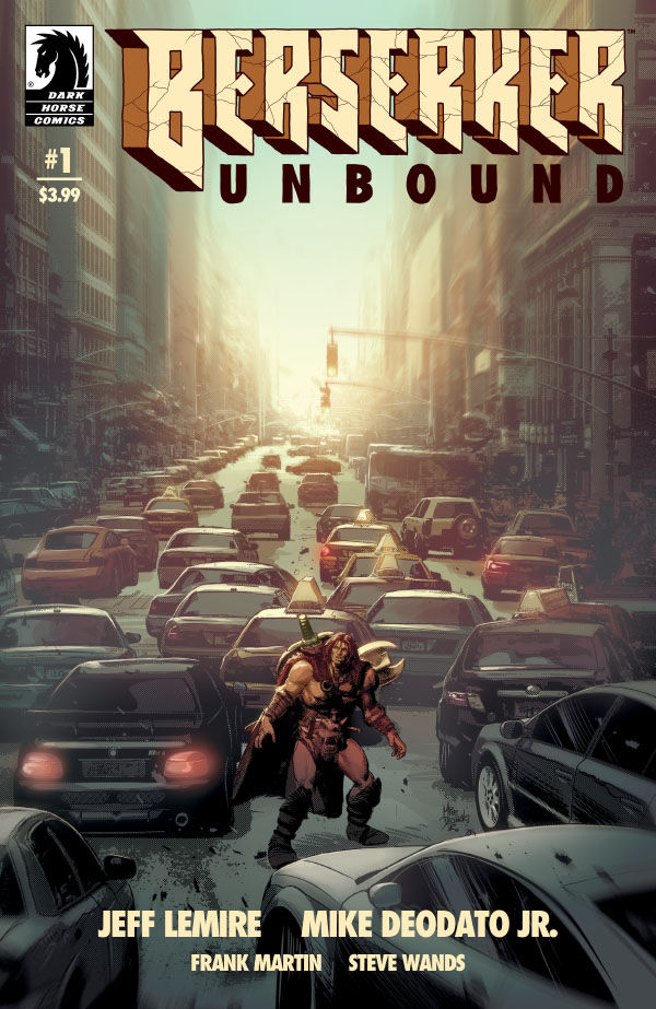 Berserker Unbound #2 Main Cover Dark Horse Comics 2019