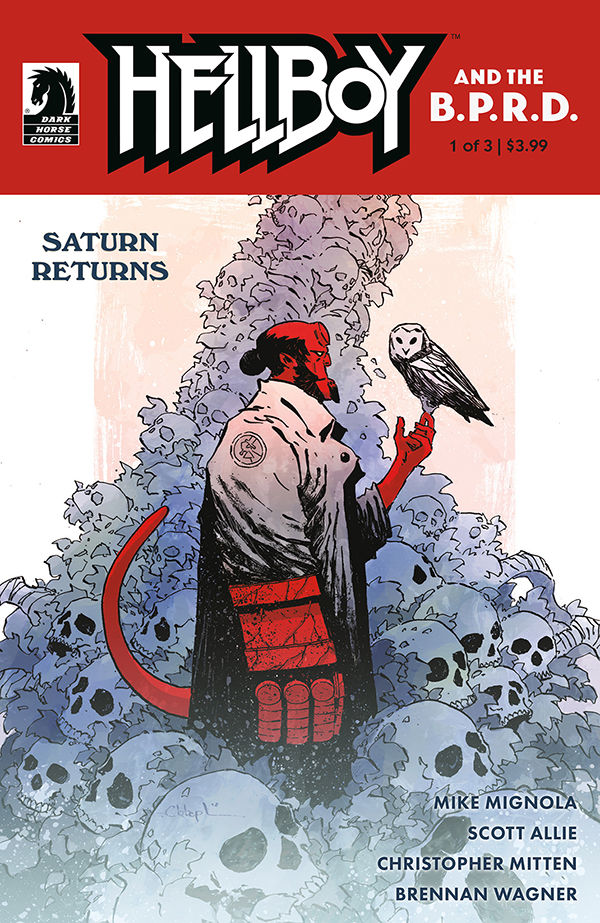 Review Hellboy And The B P R D Saturn Returns 1 Dark