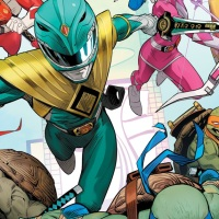 First Look at BOOM! and IDW's Upcoming Power Rangers/TMNT Crossover