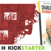 Kickstarter for Charlie Adlard: Drawings + Sketches is now LIVE!