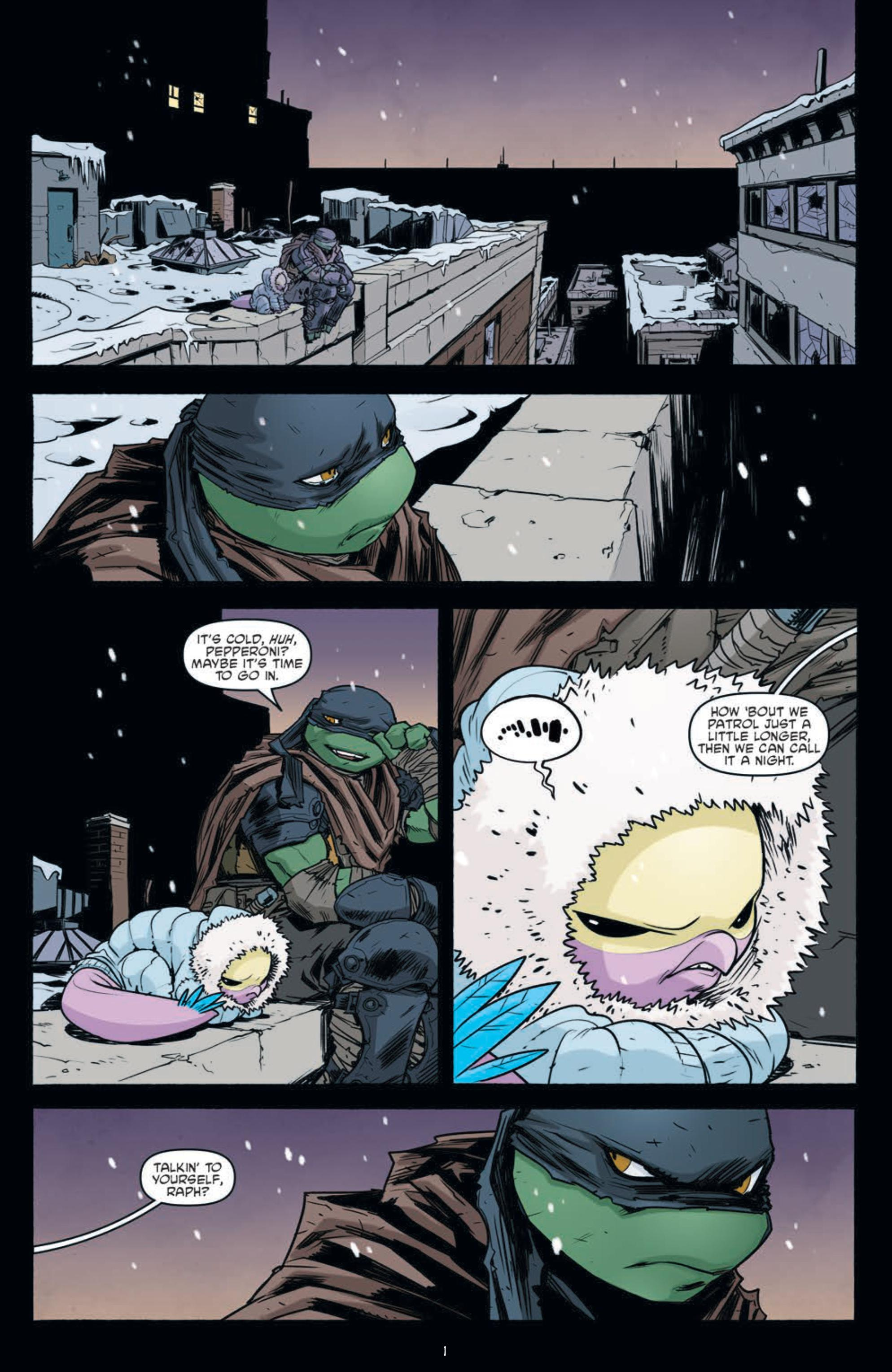 Review Teenage Mutant Ninja Turtles 102 Idw Publishing Big Comic Page
