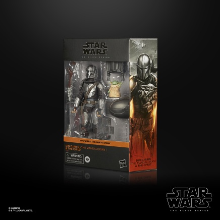 STAR WARS THE BLACK SERIES 6-INCH DIN DJARIN (THE MANDALORIAN) & THE CHILD BUILD-UP PACK - in pck (1)