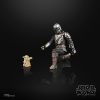 STAR WARS THE BLACK SERIES 6-INCH DIN DJARIN (THE MANDALORIAN) & THE CHILD BUILD-UP PACK - oop (6)
