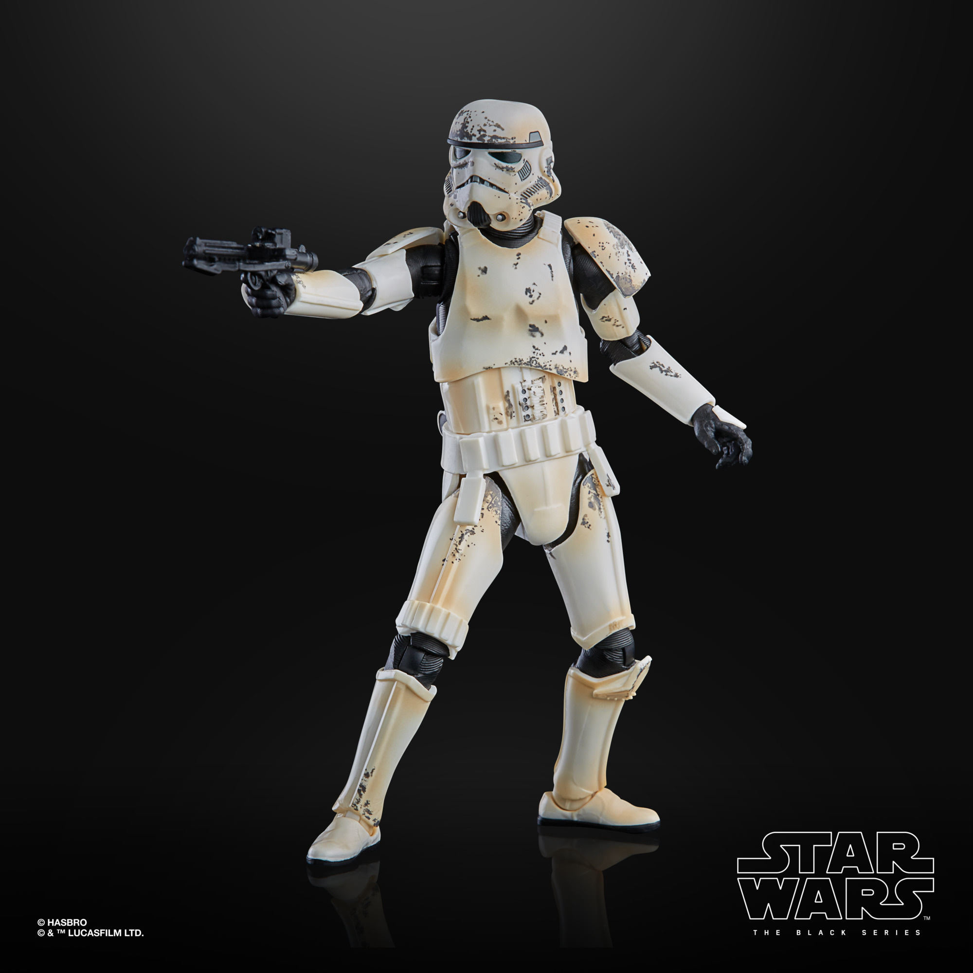 STAR WARS THE BLACK SERIES 6-INCH REMNANT TROOPER Figure – oop (2)