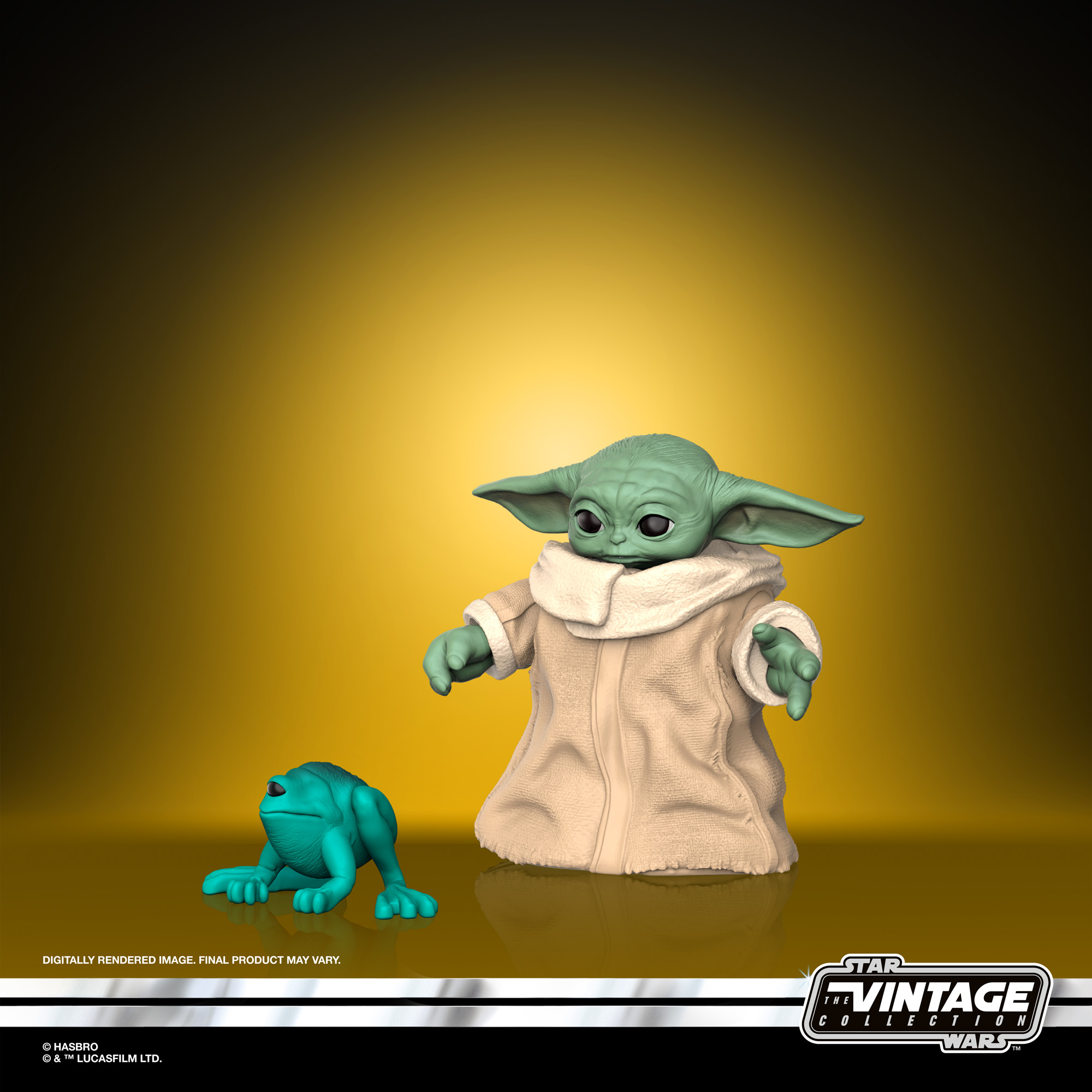 STAR WARS THE VINTAGE COLLECTION 3.75-INCH THE CHILD Figure – oop(2)