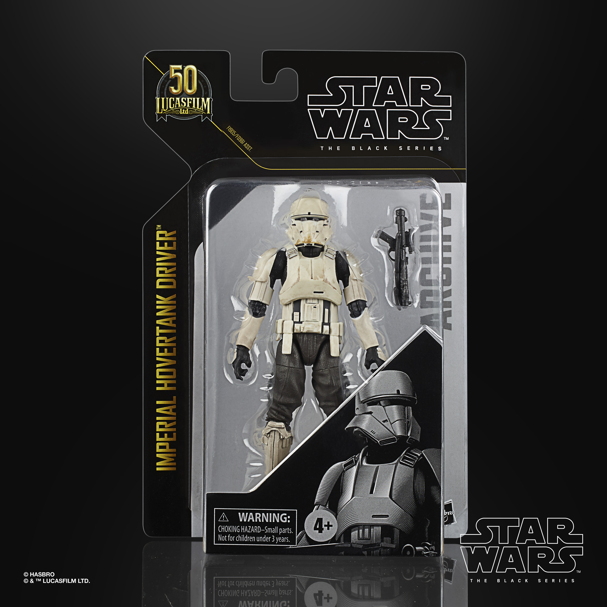 STAR WARS THE BLACK SERIES ARCHIVE 6-INCH IMPERIAL HOVERTANK DRIVER Figure – in pck(1)
