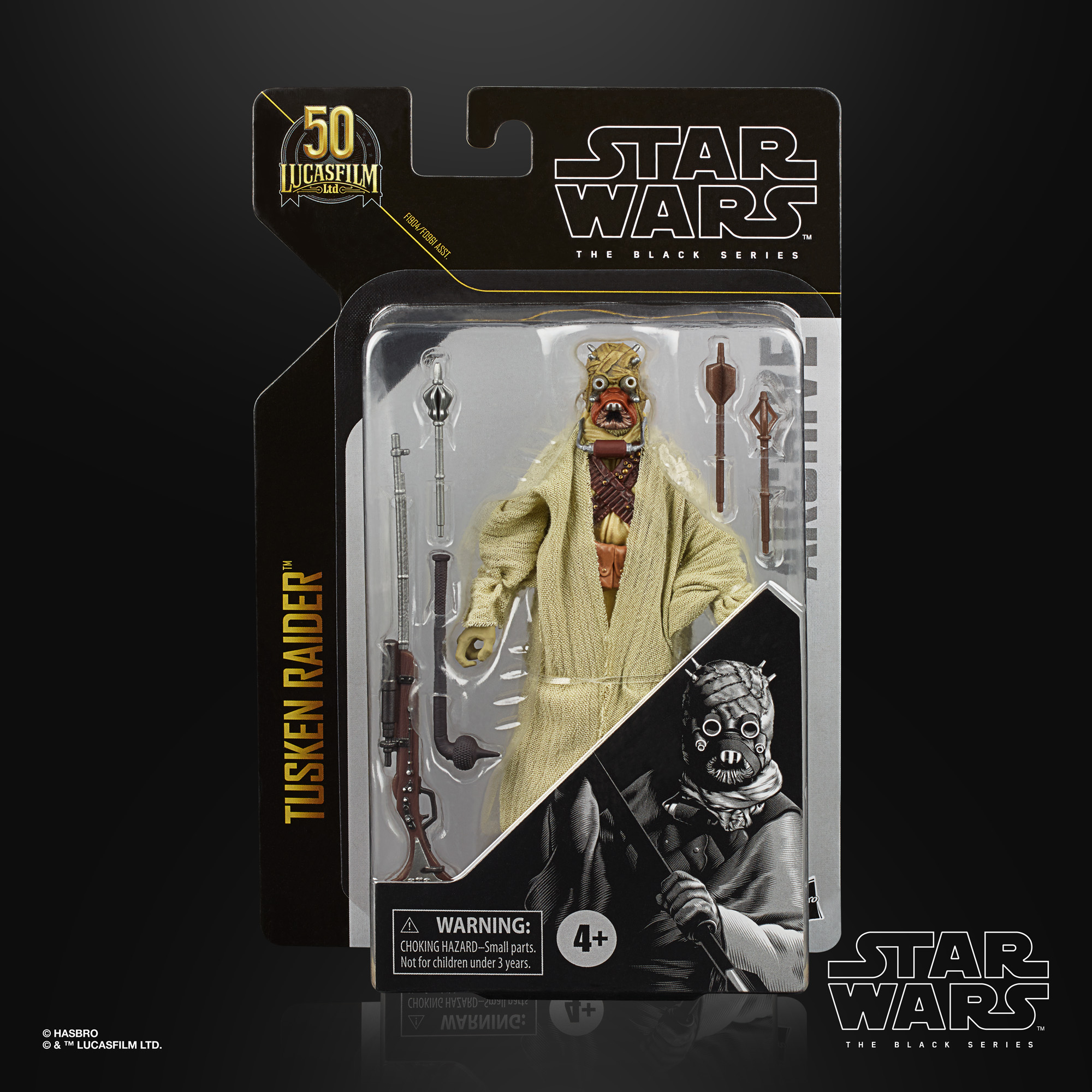 STAR WARS THE BLACK SERIES ARCHIVE 6-INCH TUSKEN RAIDER Figure – in pck (1)