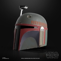 STAR WARS THE BLACK SERIES BOBA FETT (RE-ARMORED) PREMIUM ELECTRONIC HELMET - oop (2)