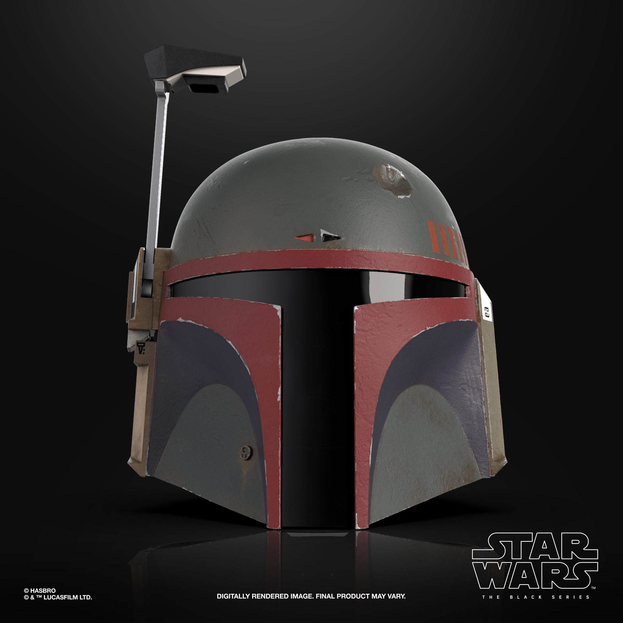 STAR WARS THE BLACK SERIES BOBA FETT (RE-ARMORED) PREMIUM ELECTRONIC HELMET – oop (3)