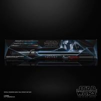 STAR WARS THE BLACK SERIES THE MANDALORIAN DARKSABER FORCE FX ELITE LIGHTSABER - in pck