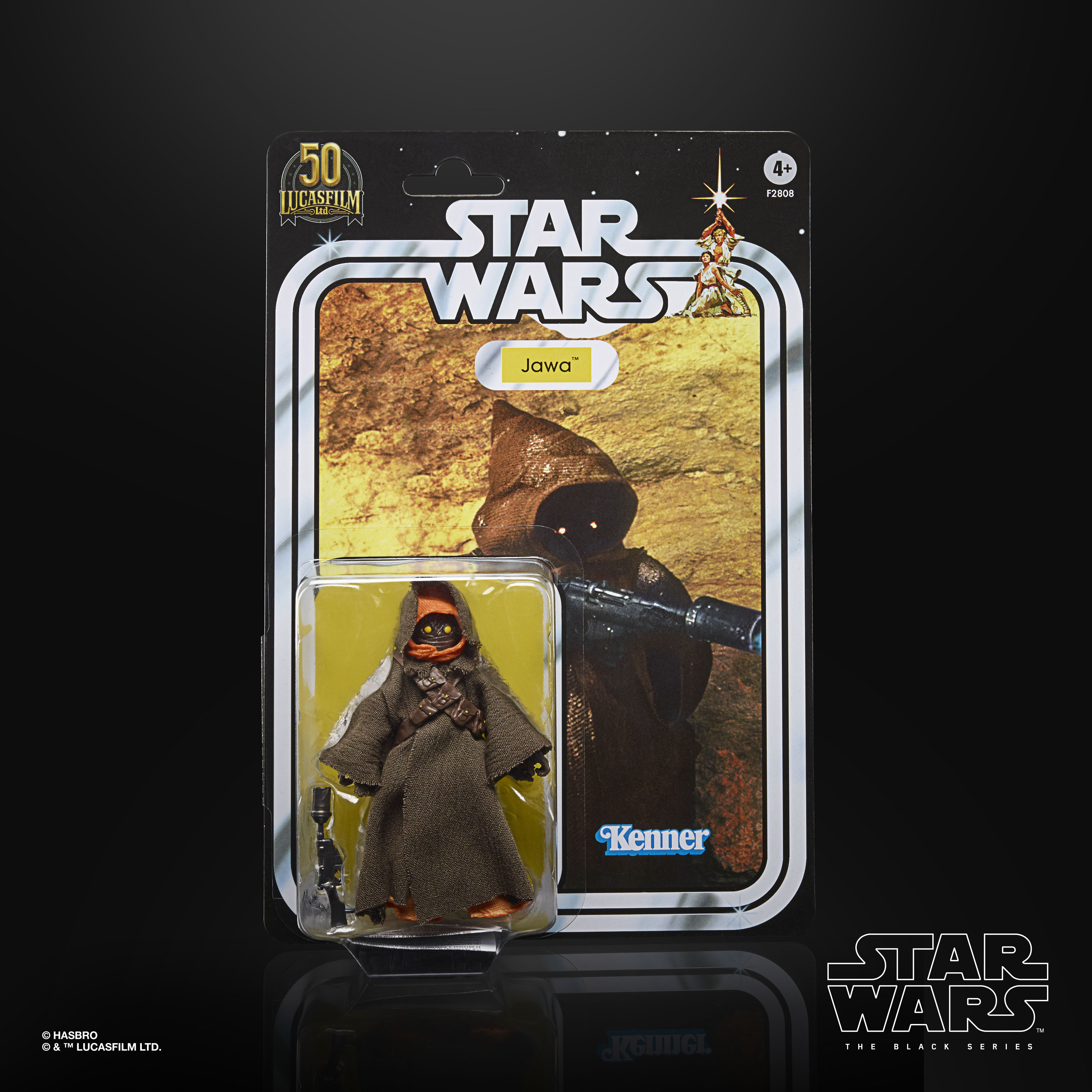 STAR WARS THE BLACK SERIES LUCASFILM 50TH ANNIVERSARY 6-INCH JAWA Figure – in pck