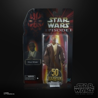 STAR WARS THE BLACK SERIES LUCASFILM 50TH ANNIVERSARY 6-INCH MACE WINDU Figure - in pck (2)