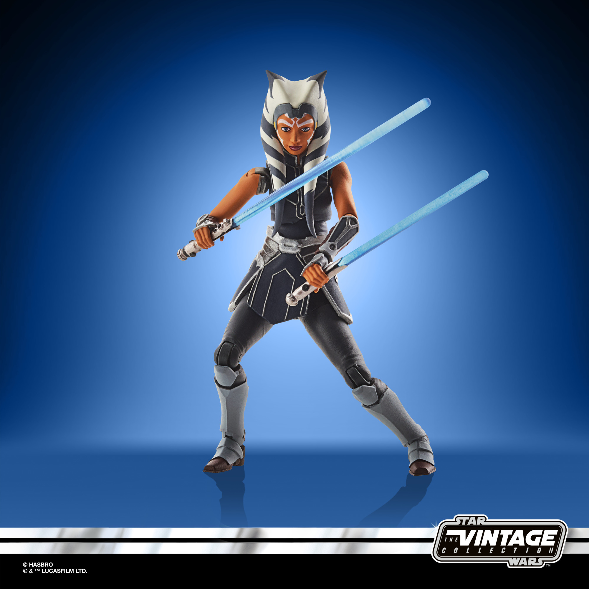 STAR WARS THE VINTAGE COLLECTION 3.75-INCH AHSOKA TANO (MANDALORE) Figure – oop (2)