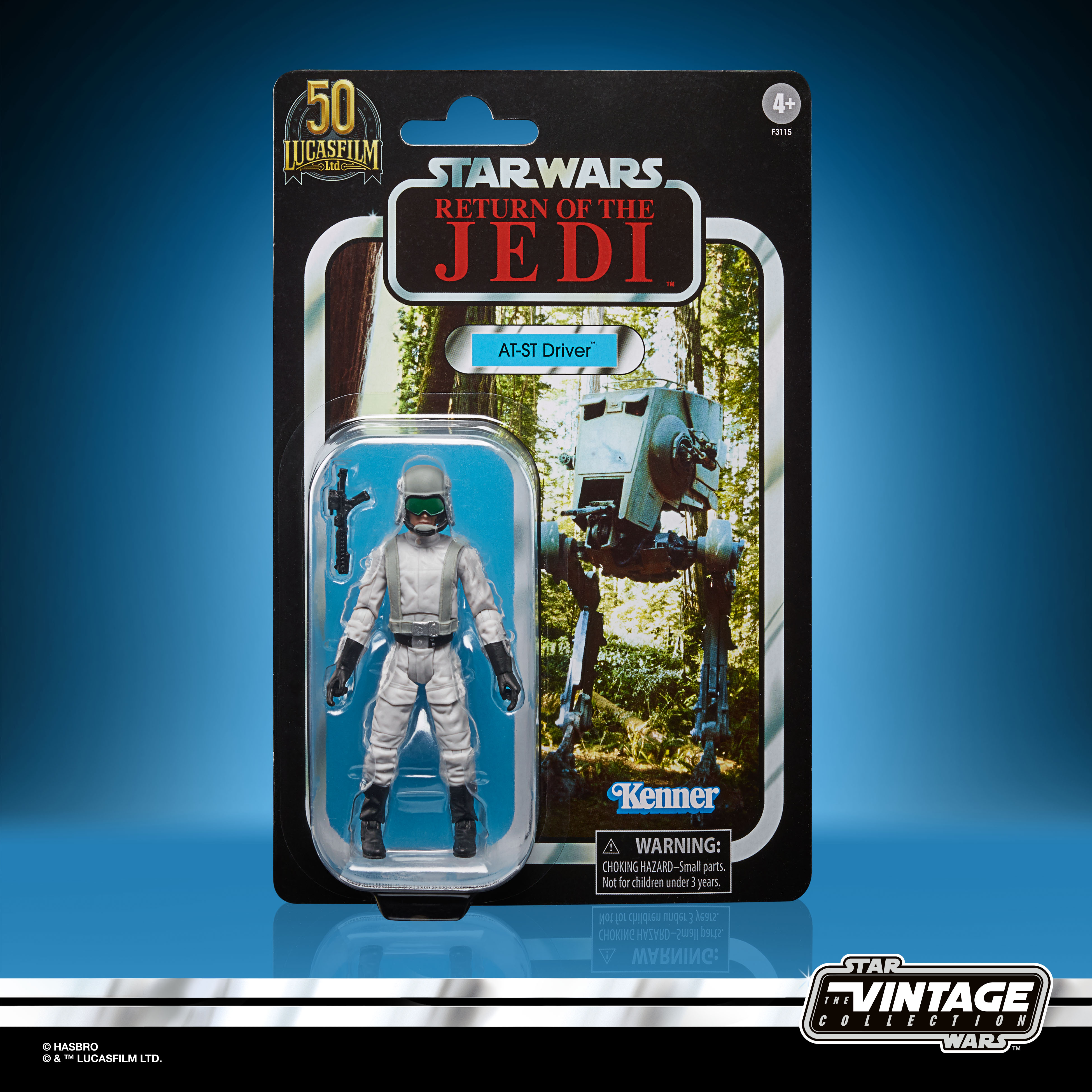 STAR WARS THE VINTAGE COLLECTION LUCASFILM FIRST 50 YEARS 3.75-INCH AT-ST DRIVER Figure – inpck