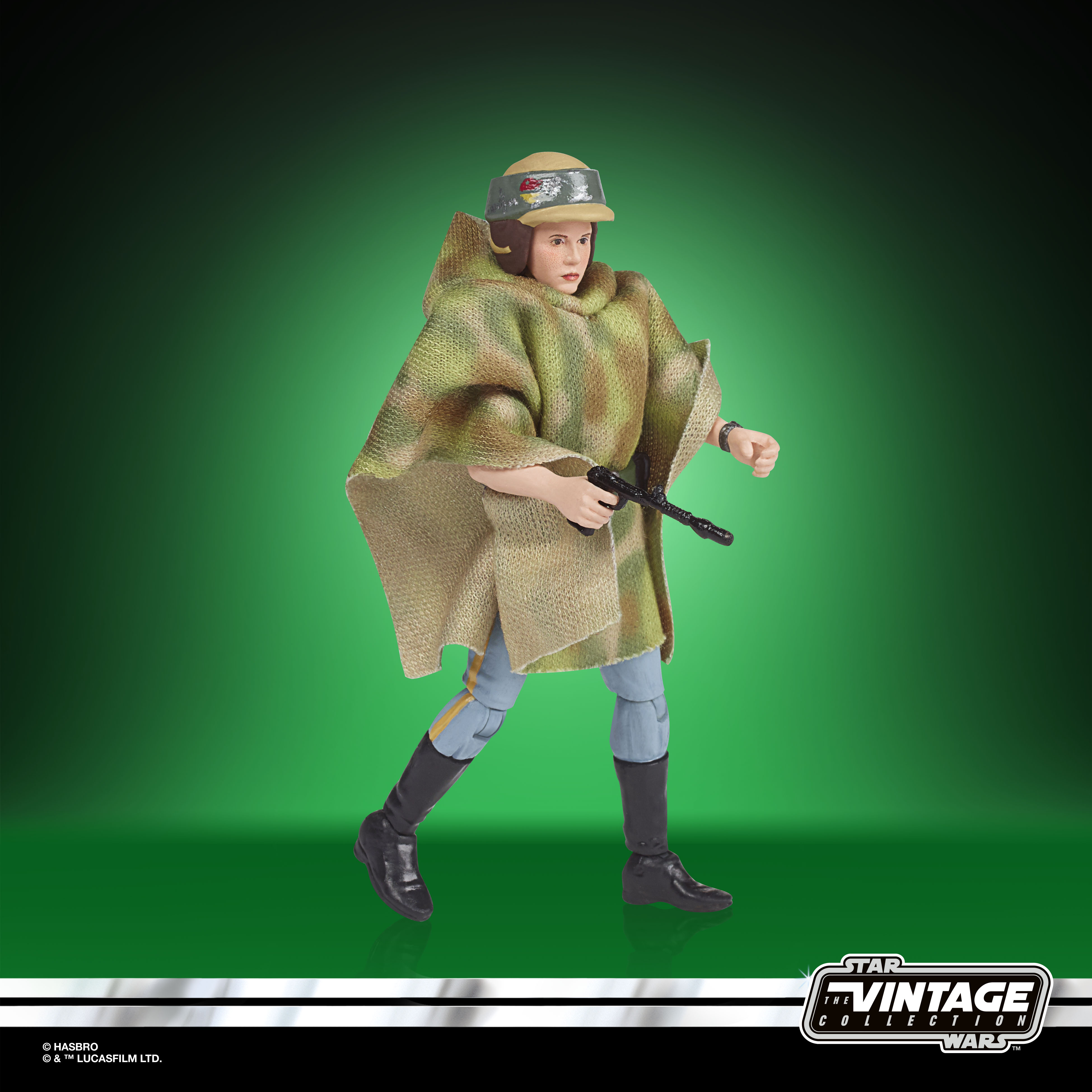 STAR WARS THE VINTAGE COLLECTION LUCASFILM FIRST 50 YEARS 3.75-INCH PRINCESS LEIA (ENDOR) Figure – oop(4)