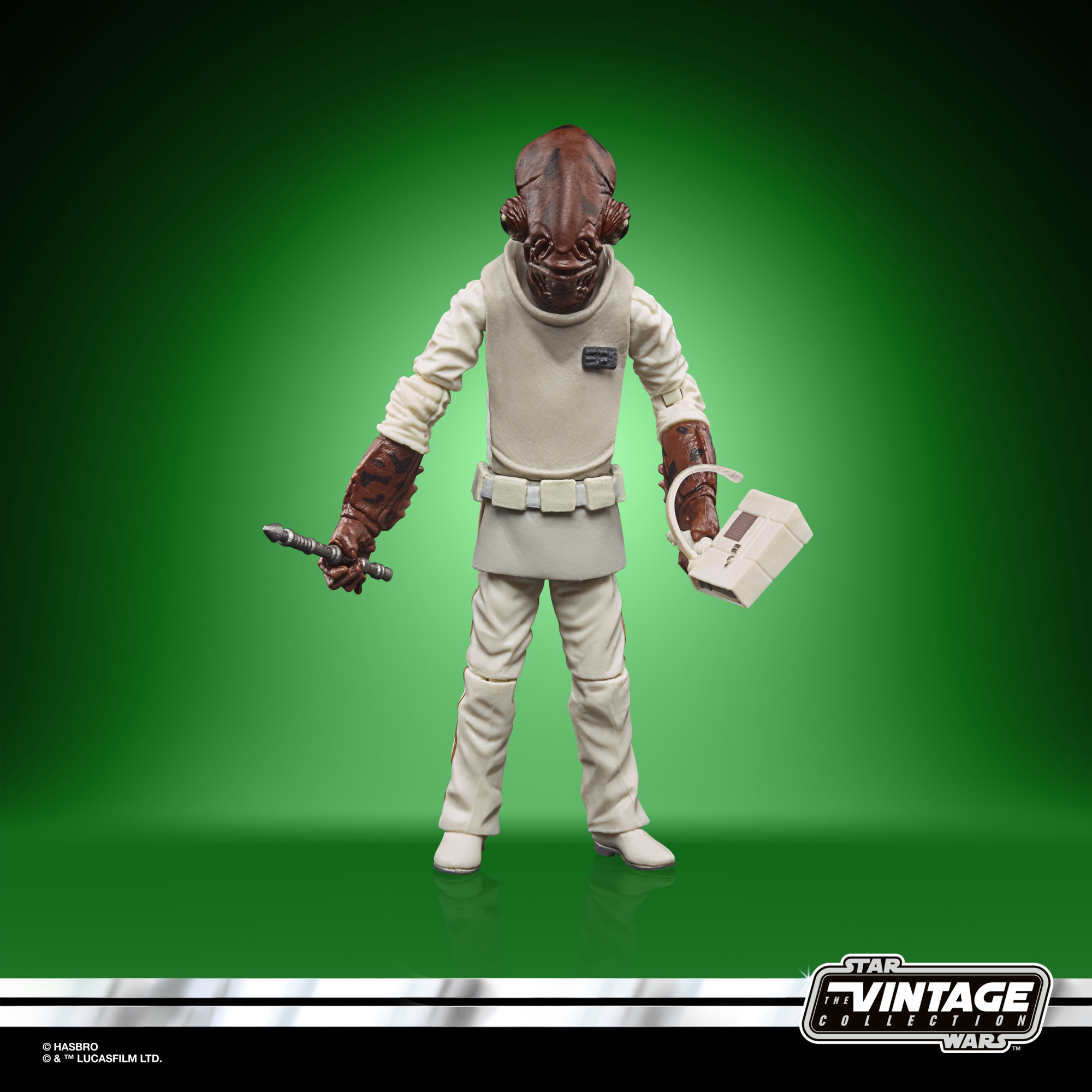 STAR WARS THE VINTAGE COLLECTION 3.75-INCH ADMIRAL ACKBAR Figure – oop(2)