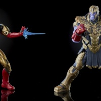 Recreate the Avengers: Endgame Finale with new Marvel Legends Iron Man vs. Thanos Hasbro Figures [REVIEW]