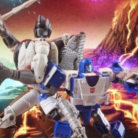 First Look at Hasbro's War for Cybertron 'Battle Across Time' Grimlock and Mirage Double Pack