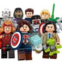New LEGO Minifigures Marvel Studios releases include Disney+ Favourites